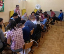 DECORATED PAINTED WALLS ARE NOW PART OF THE SPECIAL SCHOOL IN MITROVICA NORTH