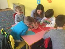 JOINT ACTIVITIES WITH CHILDREN OF KINDERGARTEN IN ZVEČAN