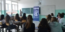 CBM ORGANIZED A LECTURE WITH THE STUDENTS OF GYMNASIUM 'FRANG BARDHI' IN MITROVICA