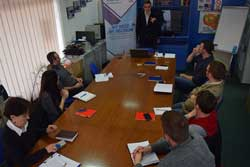 The work for Mitrovica Region Monitoring Team strategic planning document continues