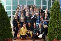 Women grantees visited successful businesswomen in Kosovo