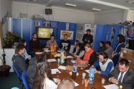 Opening of the project ''Youth is monitoring you'' supported by Community Building Mitrovica