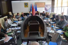 Closed Round Table for the Monitoring Report of Mitrovica South Municipality for the period April – June 2015