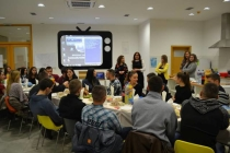 Young people from Mitrovica North and South celebrate Thanksgiving Day together