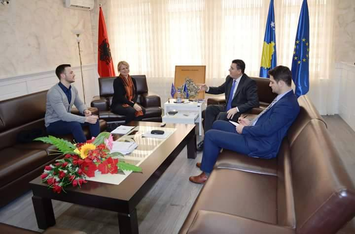 Meeting with the Mayor of Mitrovica South Municipality