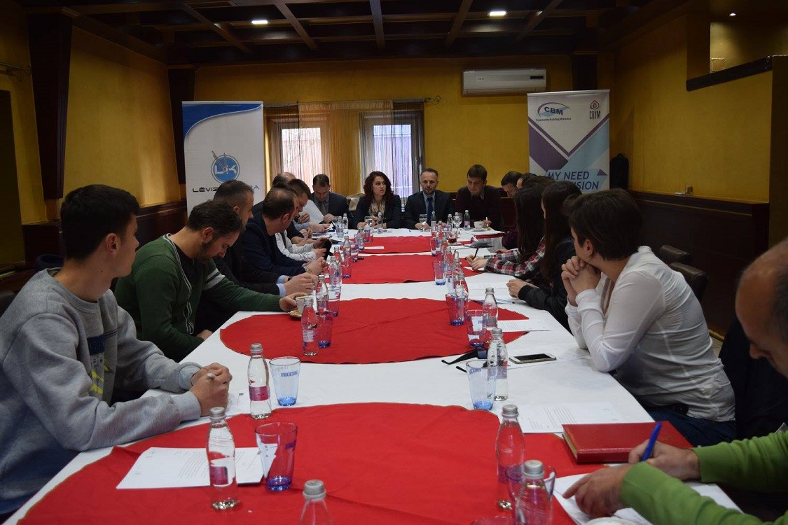 Community Building Mitrovica organized second public debate for the Mitrovica South Municipality - Youth Monitoring Report in cooperation with Lëvizja KOHA