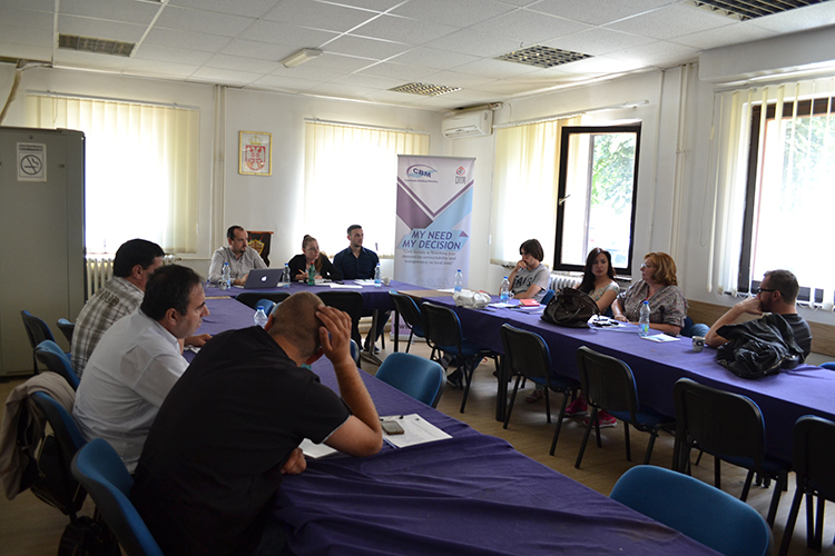 Working Group for developing MoU between MRMT and local municipalities - Zvecan municipality