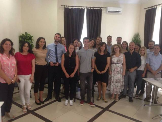 DISCUSSING DEALING WITH THE PAST AND TRANSITIONAL JUSTICE: STUDENTS FROM UNIVERSITY OF PRISHTINA VISIT BELGRADE