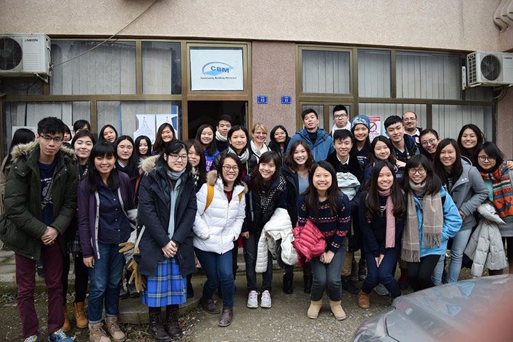 Students from Hong Kong interested on CBM's work