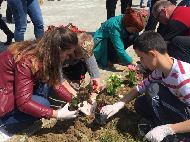 MARKING EARTH DAY WITH THE PUPILS OF THE SPECIAL SCHOOL ''NËNA TEREZA''