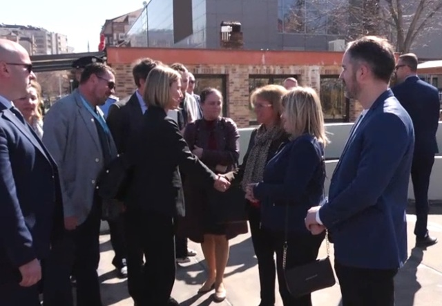 CIVIL SOCIETY IN MITROVICA MEETS MS. FEDERICA MOGHERINI