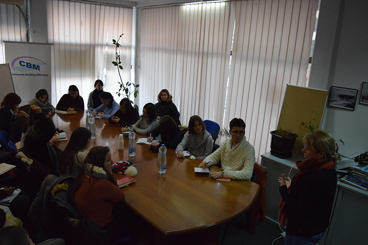 CBM welcomed students of the European Master's Degree in Human Rights and Democratization
