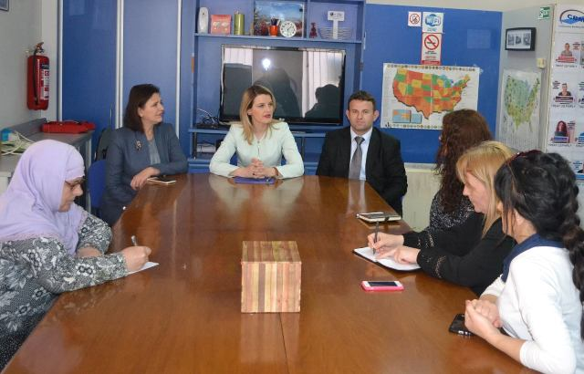 CBM HOSTED A MEETING WITH THE MINISTER OF JUSTICE, DHURATA HOXHA